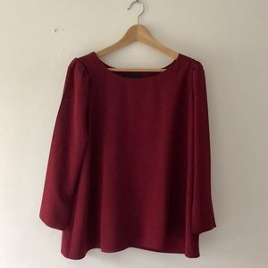 Hatch Maternity Tunic Blouse with Bow | Size 1